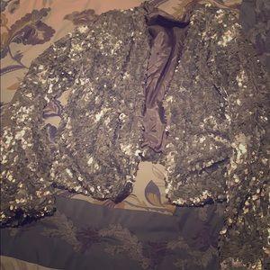 Sequin Jacket Karen Kane
